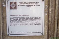 Ancien couvent de la Visitation Sainte-Claire -  Quartier de la Providence