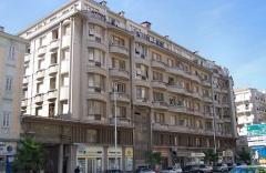Immeuble Gloria Mansions -  Nice-Quartier des Baumettes Le Gloria Mansions, 125 Rue de France, quartier des Baumettes  Vue générale   Prise de vue SW, circa 10h