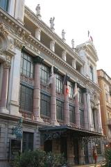 Opéra -  La façade de l'opéra de Nice