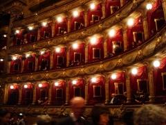 Opéra -  L'intérieur de l'opéra de Nice