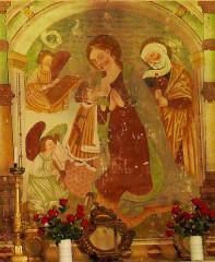 Chapelle Saint-Maur - Français:   Saint-Etienne-de-Tinée - Chapelle Saint-Maur - Vierge allaitant