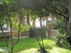 Propriété dite Villa Cypris - English: Gardens of the villa Cypris, Cap-Martin (Alpes-Maritimes, France).