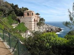 Propriété dite Villa Cypris - English: Gallery over the sea at the villa Cypris in Roquebrune Cap-Martin, France