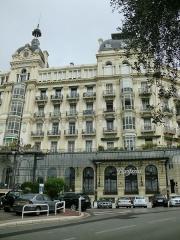 Regina, anciennement Excelsior Hôtel Regina - English: Palais Regina in Nice, France