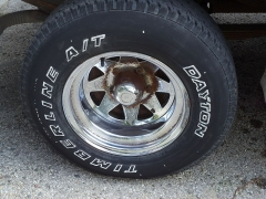 Aqueduc gallo-romain - English: 1986 Ford F-150 in London Ontario owned by Wayne Ray New tires though after these photos.