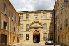 Ancien archevêché, puis Musée des tapisseries et théâtre - Deutsch: Erzbischöfliches Palais in Aix-en-Provence, Hauptfassade