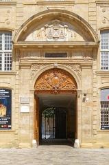 Ancien archevêché, puis Musée des tapisseries et théâtre - Deutsch: Erzbischöfliches Palais in Aix-en-Provence, Hauptportal