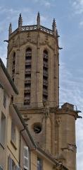 Cathédrale Saint-Sauveur - clocher de la Cathédrale Saint Sauveur (Aix en Provence)