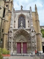 Cathédrale Saint-Sauveur - façade de la Cathédrale Saint Sauveur (Aix en Provence)