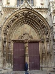 Cathédrale Saint-Sauveur -  Portal of Aix Cathedral, Aix-en-Provence, France