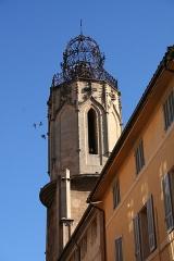 Couvent des Augustins - Français:   Clocher de l\'ancien couvent des Augustins, 51-53 rue Espariat, Aix-en-Provence (France).