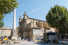 Eglise de la Madeleine, ou ancienne église des Prêcheurs - Deutsch: Kirche der heiligen Maria Magdalena (Église de la Madeleine) in Aix-en-Provence