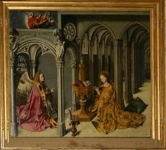 Eglise de la Madeleine, ou ancienne église des Prêcheurs - Nederlands: Annunciatie van Bartélemy van Eyck 1443-1444