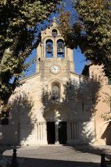 Eglise de Puyricard - English: Church Notre-Dame-de-l'Assomption in Puyricard (Bouches-du-Rhône, France)