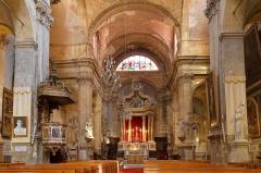 Eglise Saint-Esprit - Deutsch: Heilig-Geist-Kirche in Aix-en-Provence, Mittelschiff