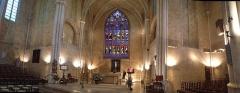 Eglise Saint-Jean-de-Malte -  Vue panoramique intérieure de l'église Saint Jean de Malte