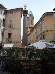 Fontaine des Augustins -  The Place des Augustins in Aix-en-Provence, Bouches-du-Rhône department, France.