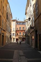 Fontaine des Bagniers - Français:   Rue des Bagniers, Aix-en-Provence (France)