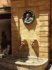 Fontaine des Bagniers - Français:   Fontaine des Bagniers (Aix-en-Provence, France)