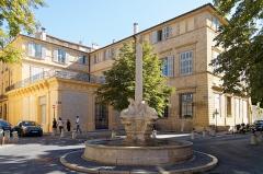 Fontaine des Quatre-Dauphins - Deutsch: Fontaine des Quatre-Dauphins in Aix-en-Provence