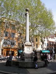 Fontaine -  Place Hotel de Ville