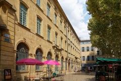 Halle aux grains - Deutsch: Halle aux grains in Aix-en-Provence, Südseite