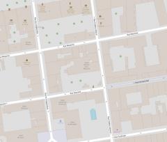 Hôtel Bonnet de la Beaume - Français:   Localisation de l\'Hôtel Bonnet de la Beaume sur plan libre (Open Street Map)
