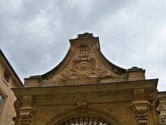 Hôtel Boyer d'Eguilles - Français:   Aix - Hotel Boyer d\'Eguilles détail portail