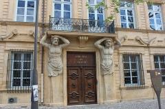Hôtel d'Espagnet ou Maurel de Pontevès -  Aix en Provence S.S.2014