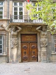 Hôtel d'Espagnet ou Maurel de Pontevès -  The Hôtel Maurel de Pontevès at 38 Cours Mirabeau in Aix-en-Provence, France.