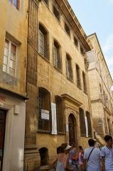 Hôtel d'Estienne de Saint-Jean, actuellement Musée du Vieil Aix - Deutsch: Hôtel d'Estienne-de-Saint-Jean in Aix-en-Provence