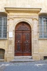 Hôtel d'Estienne de Saint-Jean, actuellement Musée du Vieil Aix - Deutsch: Portal des Hôtel d'Estienne-de-Saint-Jean in Aix-en-Provence