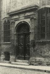 Hôtel d'Estienne de Saint-Jean, actuellement Musée du Vieil Aix - Français:   Portail de l\'hôtel d\'Estienne de Saint Jean, 1926, par James D. Basey.