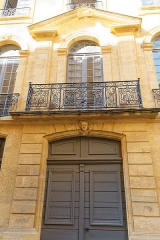 Hôtel d'Oraison - Deutsch: Portal des Hôtel d'Oraison in Aix-en-Provence