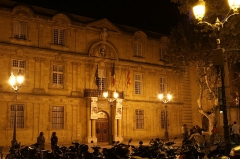 Hôtel de ville - English: The town hall of Aix-en-Provence (Bouches-du-Rhône, France).
