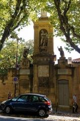 Monument de Joseph Sec - Deutsch: Monument Joseph Sec in Aix-en-Provence
