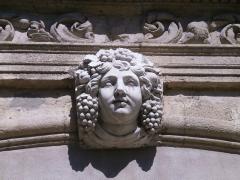 Pavillon de Vendôme (ou de la Molle) - English: Aix en Provence - Pavillon Vendome - mascaron