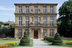 Pavillon de Vendôme (ou de la Molle) - English: The Vendôme pavilion in Aix-en-Provence.