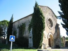 Chapelle romane du cimetière - English: France - Provence - Bouches-du-Rhône - Chapel Saint Pierre in Alleins