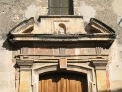 Chapelle des Pénitents Blancs, dite Notre-Dame-de-Pitié - English:   France - Provence - Bouches-du-Rhône - Chapel des Pénitents blancs in Alleins