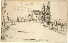 Pont Van-Gogh et maison pontière -