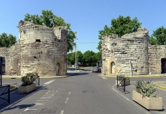Remparts - English: Cavalerie gate - Arles, France