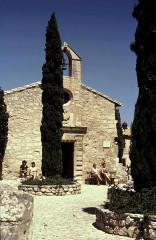 Chapelle des Pénitents Blancs (ou chapelle Sainte-Estelle) -  Bouches-Du-Rhone Les Baux-De-Provence Chateau Chapelle Des Penitents Blancs
