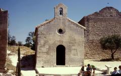 Chapelle Saint-Blaise -  Bouches-Du-Rhone Les Baux-De-Provence Chateau Chapelle Saint-Claude