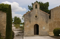 Chapelle Saint-Blaise - Deutsch: Kapelle Saint Blaise in Les Baux
