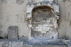 Immeuble dit Restes de la Maison du Roi - English: Les Baux-de-Provence (Bouches-du-Rhône, France)