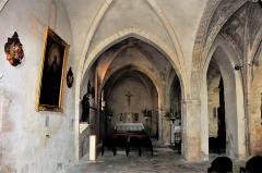 Chapelle Notre-Dame de Caderot - Deutsch: Berre-l'Étang: Kapelle Notre Dame de Caderot, Inneres
