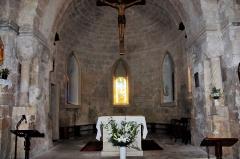 Chapelle Notre-Dame de Caderot - Deutsch: Berre-l'Étang: Kapelle Notre Dame de Caderot, Altarraum
