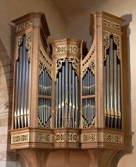 Eglise - English: The baroque organ in church of Saint André, Bouc-Bel-Air, Bouches-du-Rhône (France).