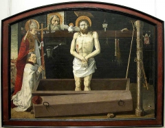 Chapelle de Saint-Marcellin -  The Boulbon Altarpiece c. 1460 Wood transferred to convas, 172 x 228 cm Musйe du Louvre, Paris